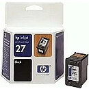 Hewlett Packard NO 27 BLACK INK CARTRIDGE, 10ML