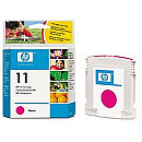 Hewlett Packard NO 11 MAGENTA INK CARTRIDGE, 28ML