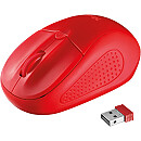 Trust Primo Wireless Mouse, Red