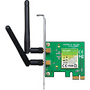 TP-LINK TL-WN881ND, 300Mbps WiFi Adapter, PCI-E x1
