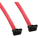 4World SATA Data Cable, red, 0.90m, Angled