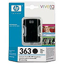 Hewlett Packard NO 363  BLACK INK CARTRIDGE, 6 ML
