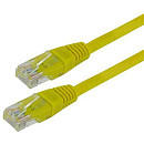 4World Patch Cable Cat. 5e UTP, 1.8m, Yellow