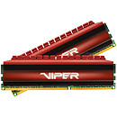 Patriot Viper 4 Red, DDR4, 8GB, 3000MHz, CL16, Kit of 2