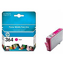 Hewlett Packard NO 364 MAGENTA INK CARTRIDGE, 300 PGS