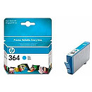 Hewlett Packard NO 364 CYAN INK CARTRIDGE, 300 PGS