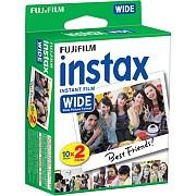 Fujifilm Instax Wide Film, Glossy, 2x