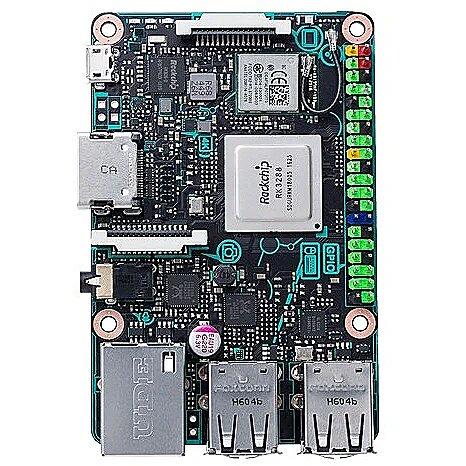 Asus Tinker Board, Rockchip Quad-Core RK, 2GB, ARM Mali-T764 GPU