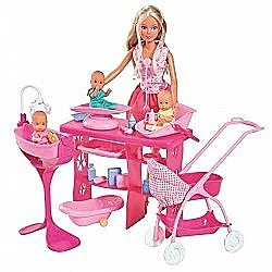 Simba 105733212/Steffi Love Super Baby Doll Care Accessories