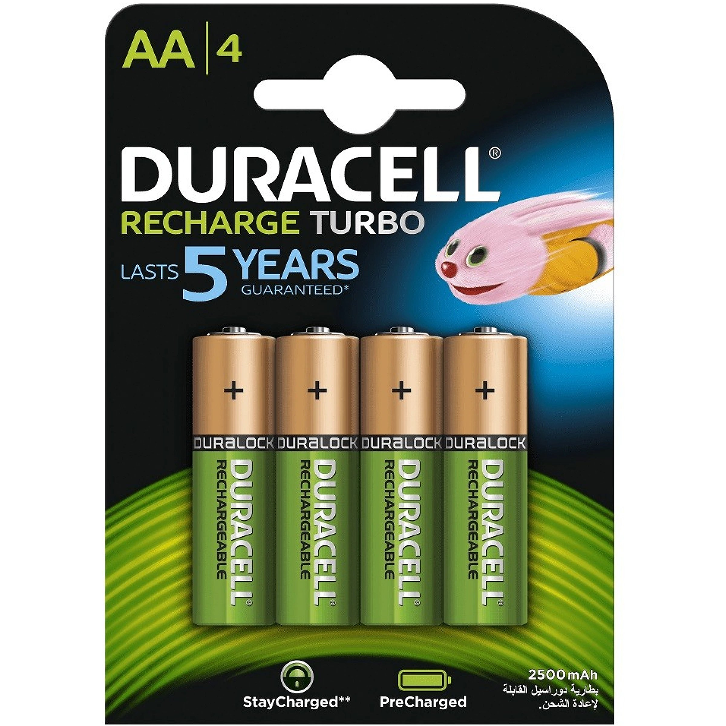 rechargeable batteries NiMH 2650mAh 1.2V rechargeable battery Nickel-Metal Hydride , 2650 mAh, 1.2 V, AA, 119 x 84 x 15 mm NiMH Duracell HR6 AA 4-pack Nickel-Metal Hydride