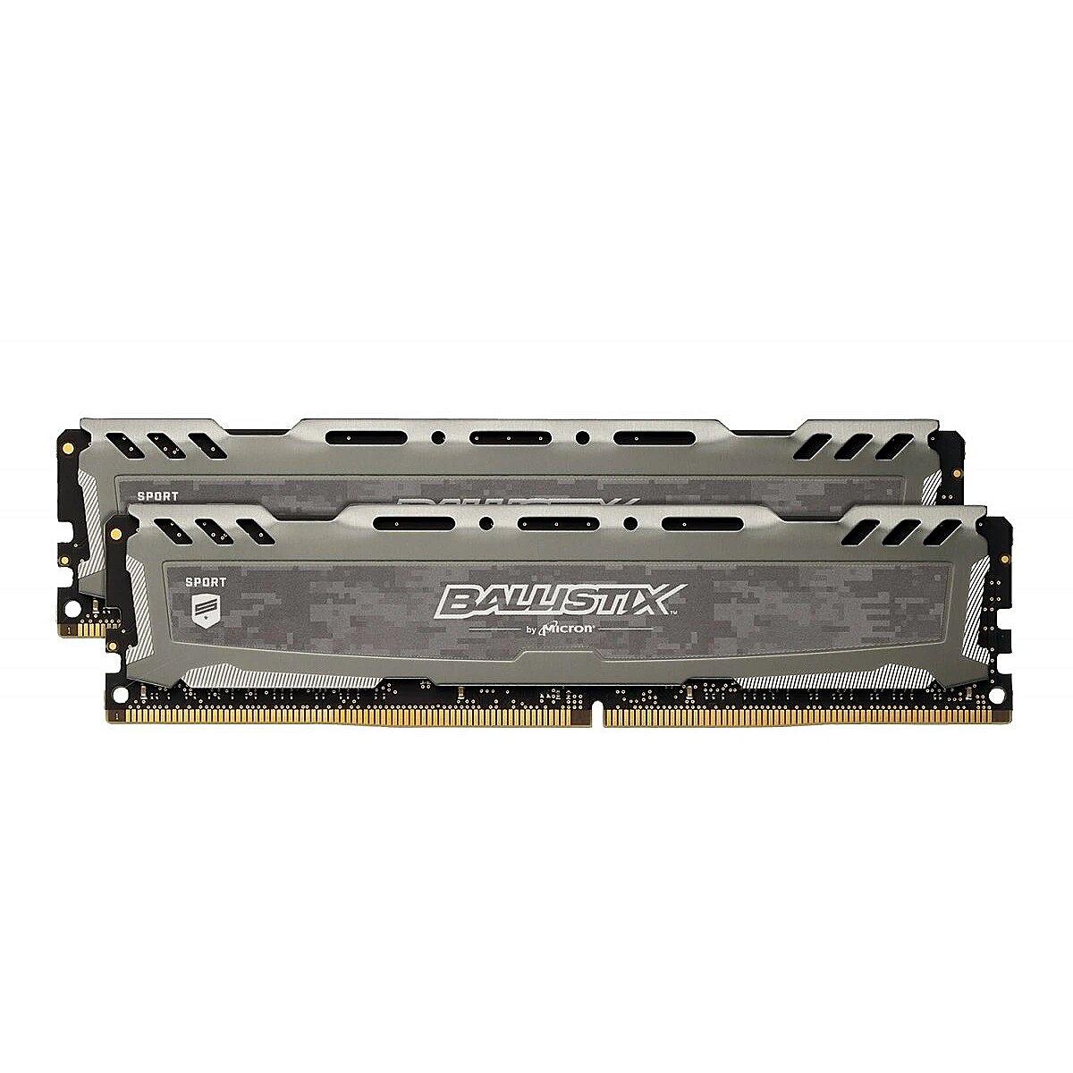 Desktop Memory PC4 25600 Ballistix Sport LT 16GB 288-Pin DDR4 SDRAM DDR4 3200