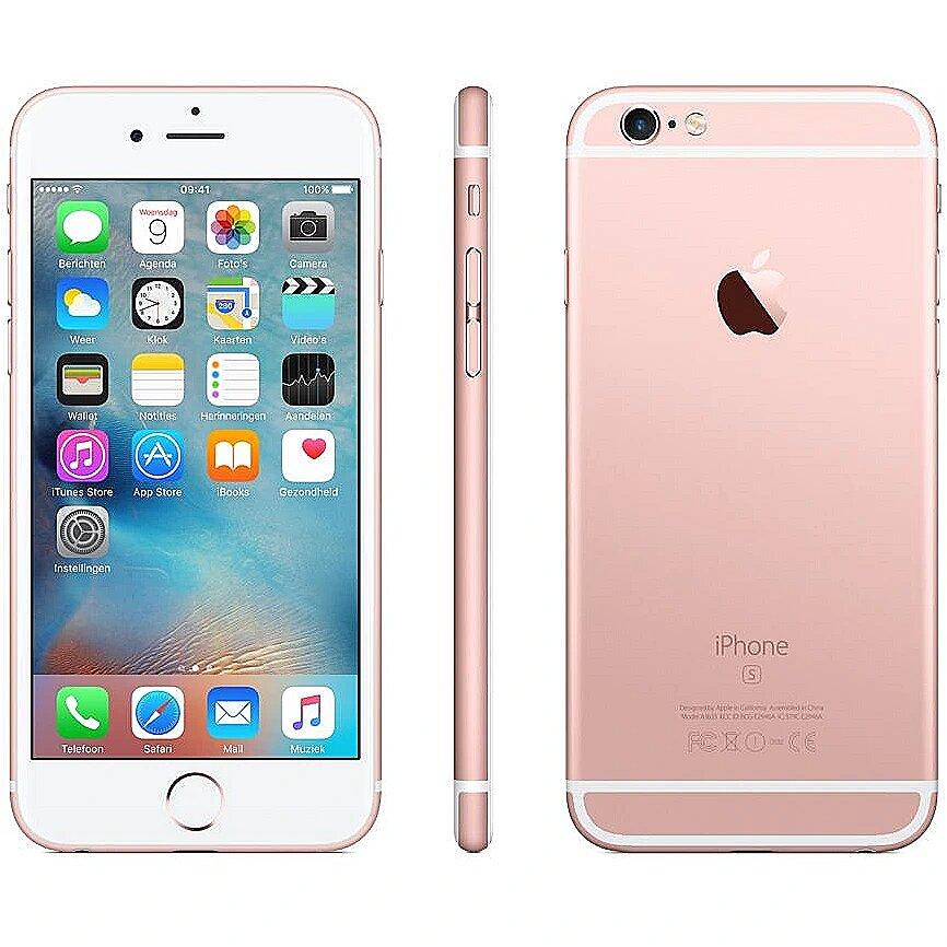 uk availability f9a43 b2de1 Apple iPhone 6s, 128GB, Rose Gold
