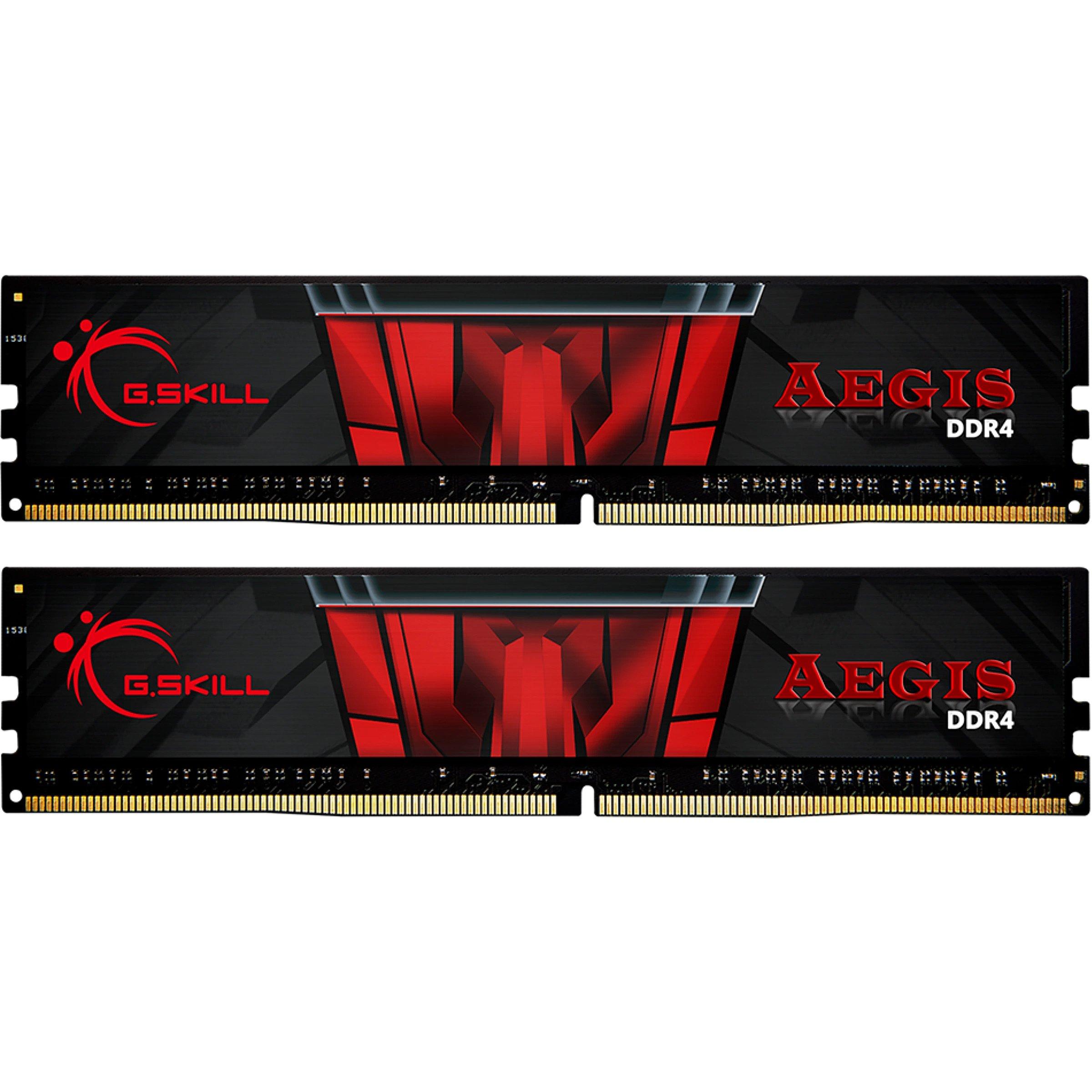 G.SKILL Aegis, DDR4, 16GB, 3200MHz, CL16, Kit of 2
