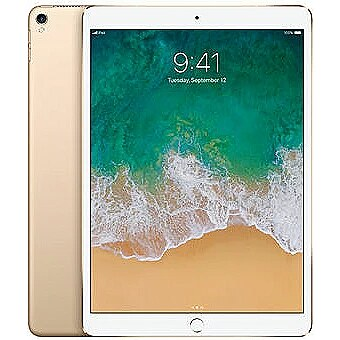"Apple iPad Pro, 10.5"", Wi-Fi, 256GB, Gold"