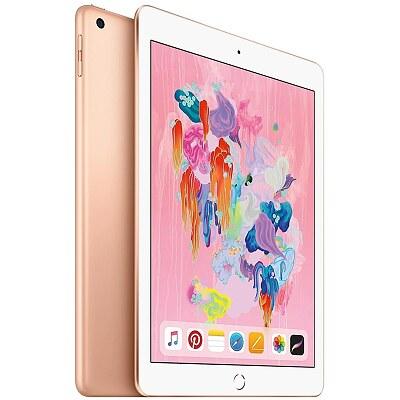 Apple iPad, Wi-Fi + Cellular, 128GB, Gold