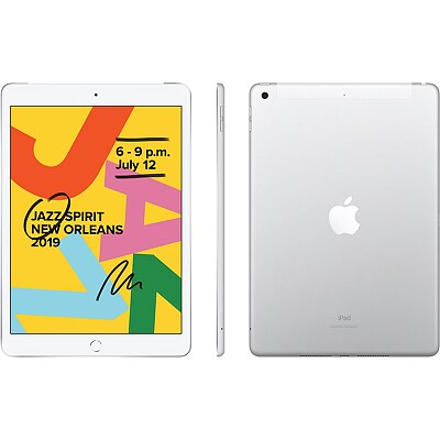 Apple iPad 7th, Wi-Fi, 128GB, 10.2