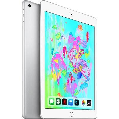 Apple iPad, Wi-Fi + Cellular, 128GB, Silver