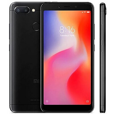 Xiaomi Redmi 6, 32GB, Black