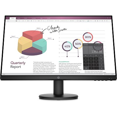Hewlett Packard HP P24v G4 23.8inch IPS FHD Monitor