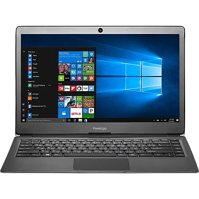 Prestigio SmartBook 133S Dark Grey, 13.3'' FHD IPS, Celeron N3350, 3GB, 32GB eMMC, Windows 10 Home